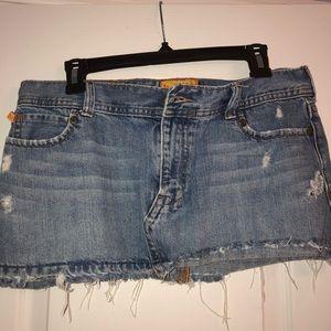 Vintage Hollister denim skirt